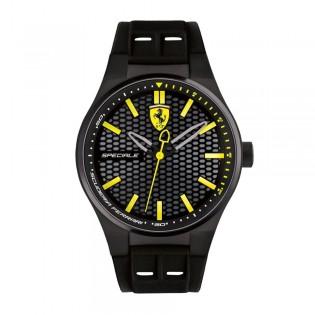 Scuderia Ferrari 830342 Men's Redrev Evo Quartz Chronograph Silicone Strap Watch