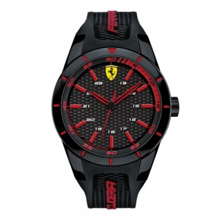 Scuderia Ferrari 830245 Men's Redrev Quartz Silicone Strap Watch