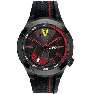 Scuderia Ferrari 830339 Men's Redrev Quartz Silicone Strap Watch
