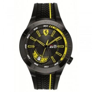Scuderia Ferrari 830340 Men's Redrev Evo Quartz Silicone Strap Watch