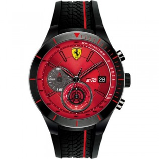 Scuderia Ferrari 830343 Men's Quartz Chronograph Steel Watch