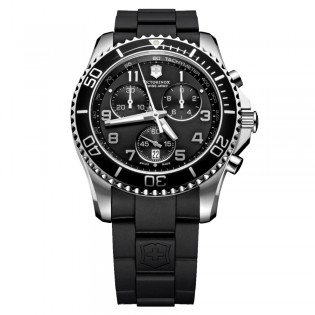 Victorinox Swiss Army 241431 Men's Maverick GS Chronograph Rubber Strap Watch
