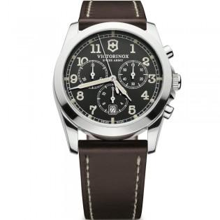 Victorinox Swiss 241567 Men's Infantry Quartz Chronograph Leather Watch