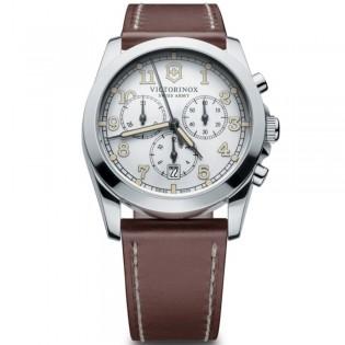 Victorinox Swiss Army 241568 Men's Infantry Quartz Chronograph Leather Watch
