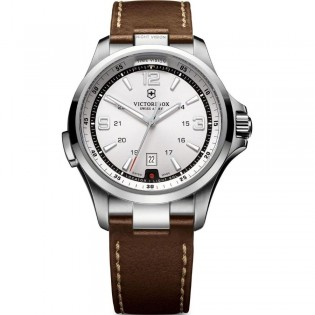 Victorinox Swiss Army 241570 Men's Night Vision Quartz Leather Watch