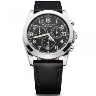 Victorinox Swiss Army 241588 Men's Infantry Quartz Chronograph Leather Watch