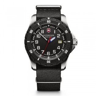 Victorinox Swiss Army 241674.1 Men's Maverick Sport Quartz Black Nylon Strap Watch