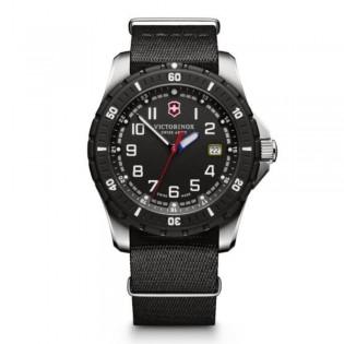 Victorinox Swiss Army 241674.1 Men's Maverick Sport Quartz Black Nylon Strap Watch