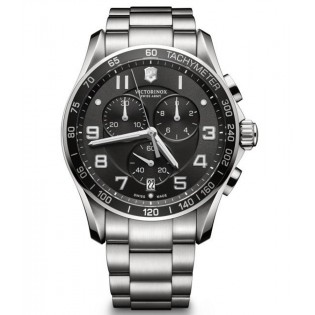 Victorinox Swiss Army 241650 Men's Classic Chronograph Quartz Steel Watch