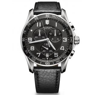 Victorinox Swiss Army 241651 Men's Classic Chronograph Quartz Leather Watch