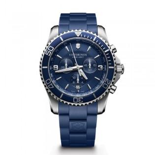 Victorinox Swiss Army 241690 Men's Maverick Chronograph Quartz Rubber Strap Watch