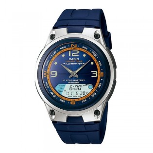 Casio AW-82-2AVDF Men's Fishing Gear Digital Analog Resin Watch AW-82-2AV