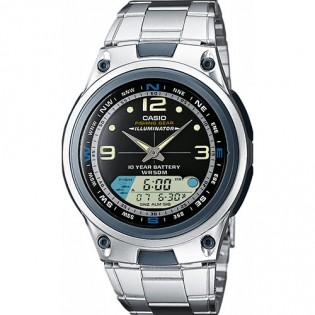 Casio AW-82D-1AVDF Men's Fishing Gear Digital Analog Steel Watch AW-82D-1AV