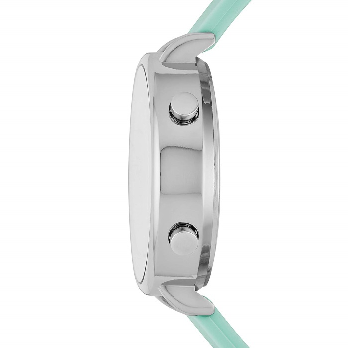 93f053fca97 Skechers SR6070 Women s Quartz Digital Stainless Steel and Silicone Green  Strap Girl Watch