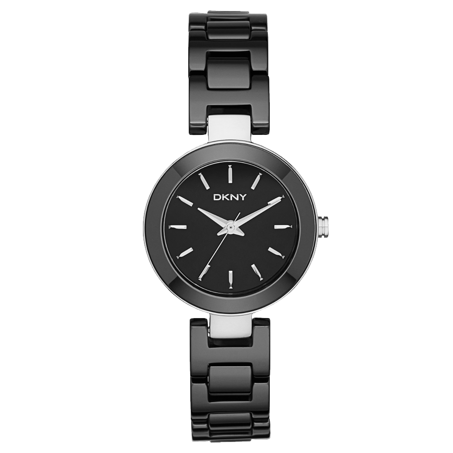 img ladies emporio watches womens black classic armani watch chain product ceramic